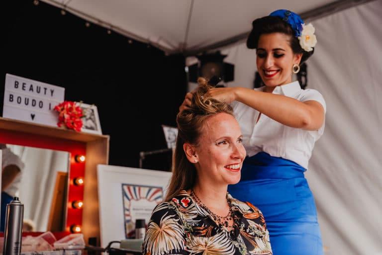 TheModernettes-RetroSurMer_Wenduine-Festival-Retro-Fifties-Hair-MorganeBall-2019